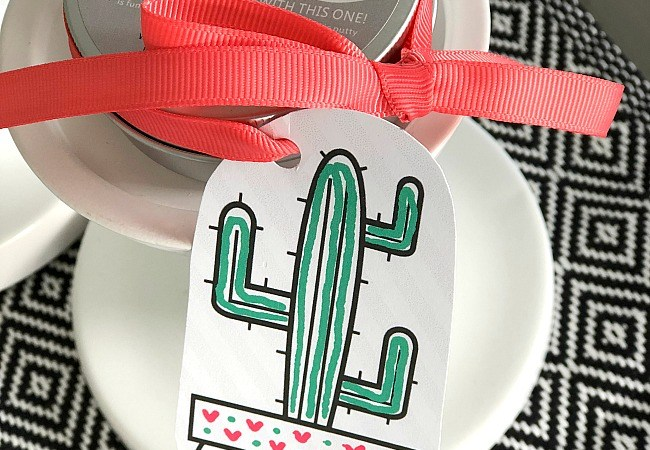 Kids Cactus Coloring Printable Tags + Magnetic Putty!!