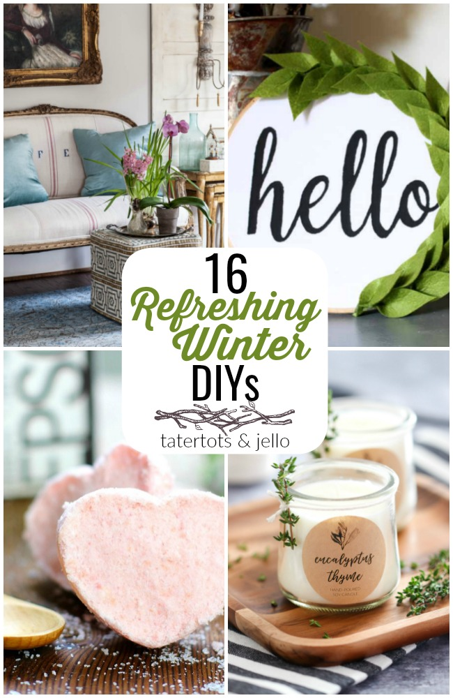 Great Ideas -- 16 Refreshing Winter DIYs!