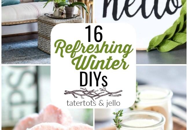 Great Ideas — 16 Refreshing Winter DIYs!