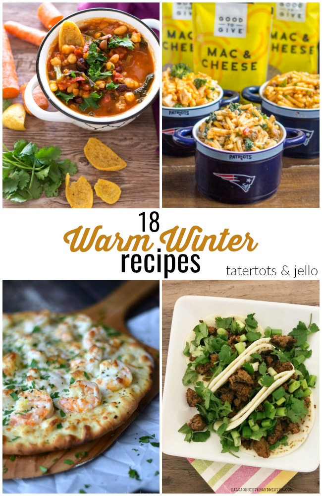 Great Ideas -- 18 Warm Winter Recipes!