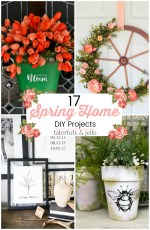 17 Beautiful Spring Home DIY Projects!