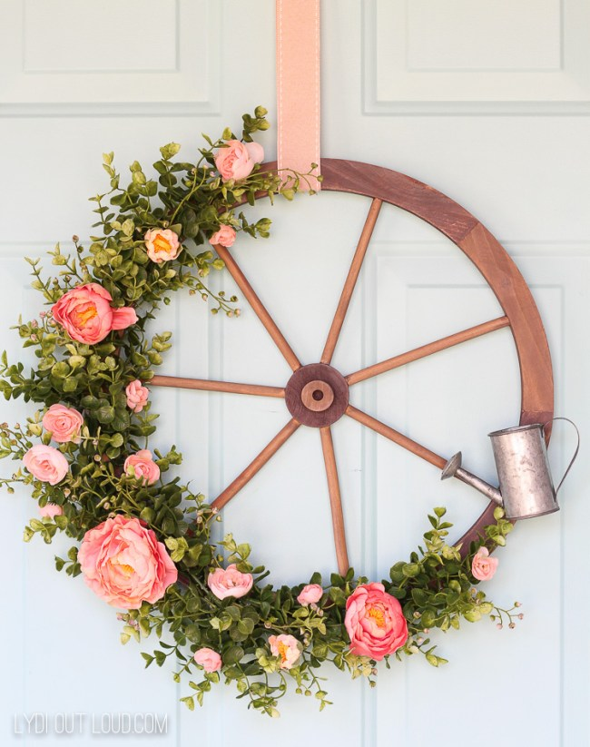17 Beautiful Spring Home DIY Projects - celebrate Spring with these beautiful and easy DIY projects!