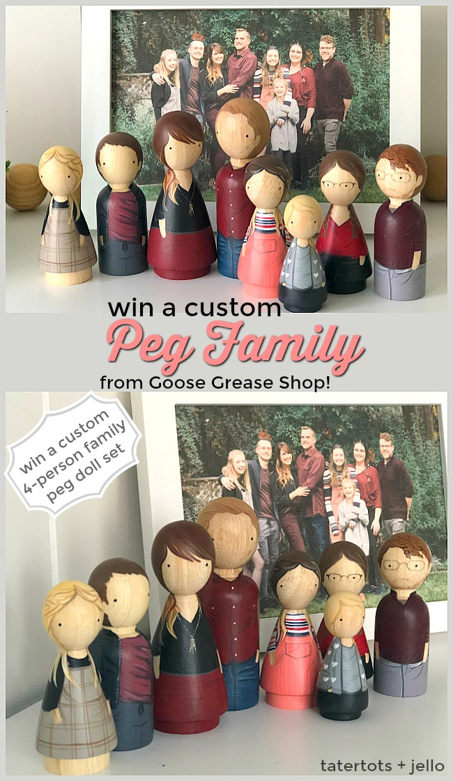 Best Friday Features — and Custom Peg Family Giveaway!