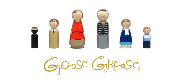 Giveaway - Win Your Own CUSTOM Peg Family from Goose Grease