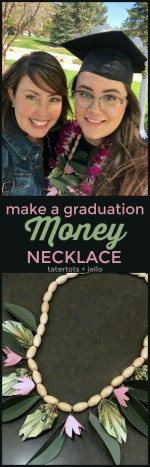 Make a Graduation Money Lei Necklace