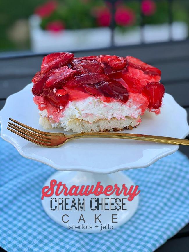 How to make the best Strawberry Cream Cheese Cake