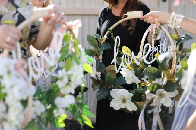 DIY Magnolia Wreath for Summer