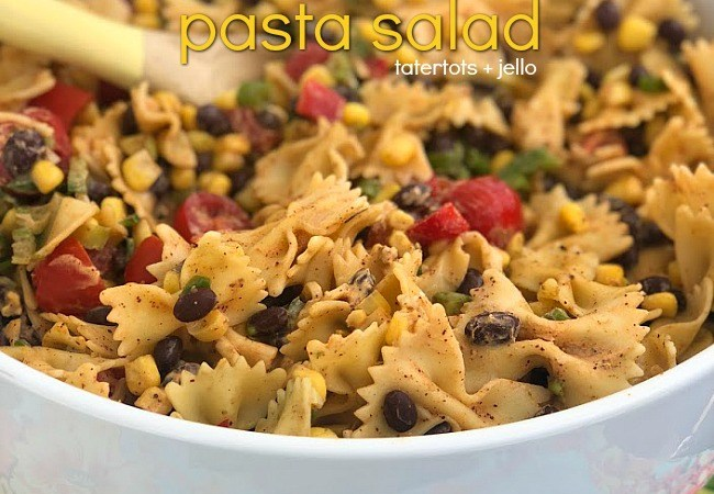 Instant Pot Zesty Mexican Black Bean Pasta Salad