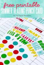 Free Kids Summer Reading Log Printables!