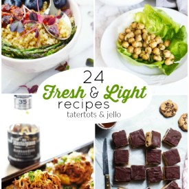24 Fresh & Light Summer Recipes!