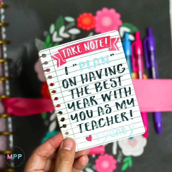 free printable gift tags teacher gift