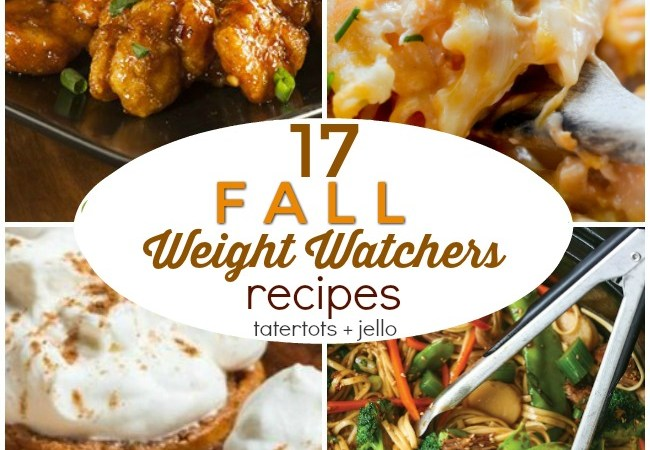 17 Comforting and Delicious Fall Weight Watchers Recipes!
