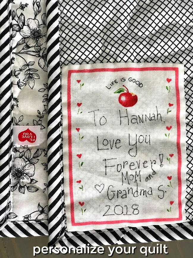 How to Make a T-Shirt Quilt. Personalize it too!
