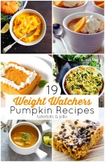 19 Warm and Delicious Weight Watchers Pumpkin Recipes!