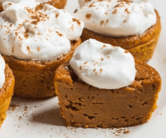 Weight Watchers Pumpkin Mini Pies