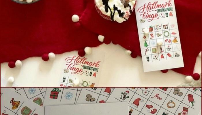 Free Printable Hallmark Channel Holiday BINGO Game!