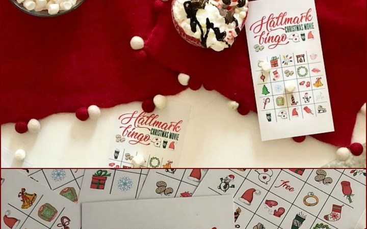 Free Printable Hallmark Channel Holiday BINGO Game!