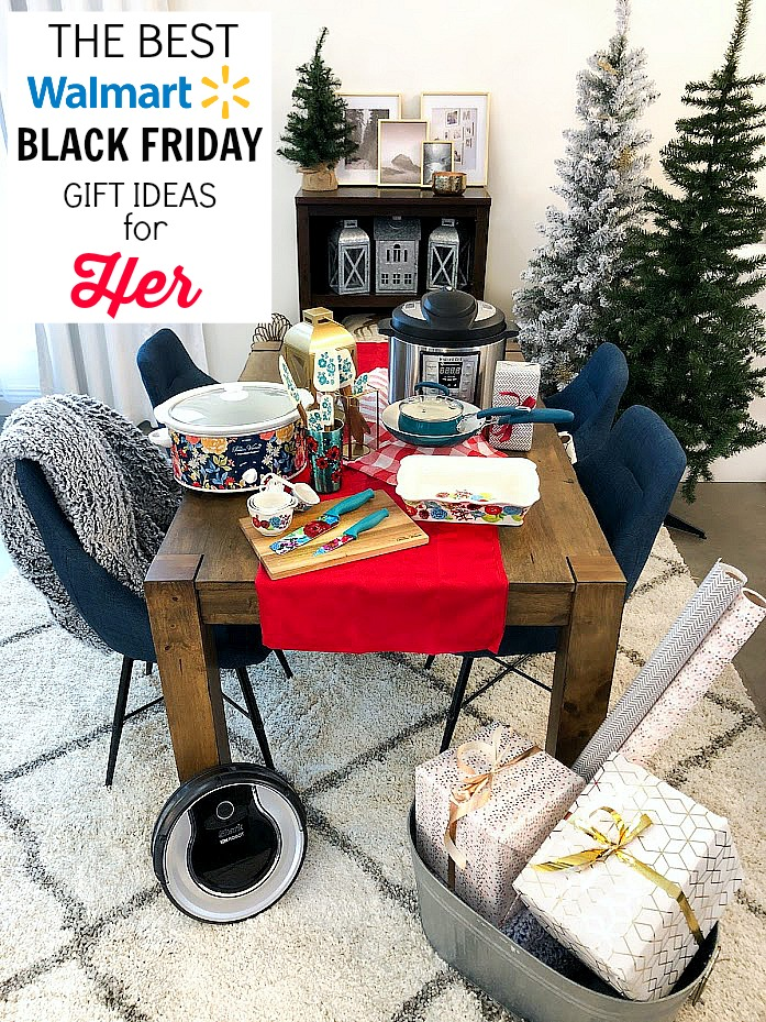 The Best Walmart Black Friday Deals for HER. Gifts for the entrepreneur, the cook and the home lover. Plus some ways to save you time and money on Black Friday!