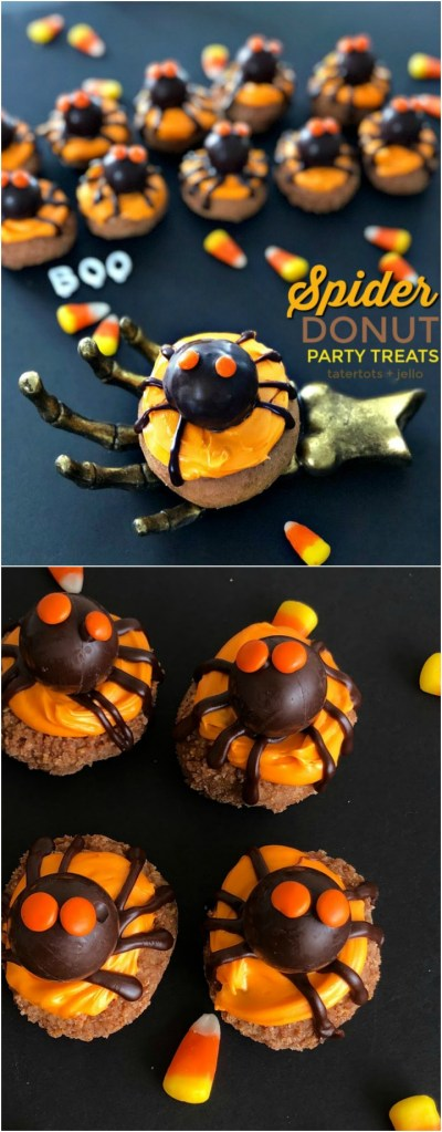 How to Make Spider Donut Halloween Party Treats!