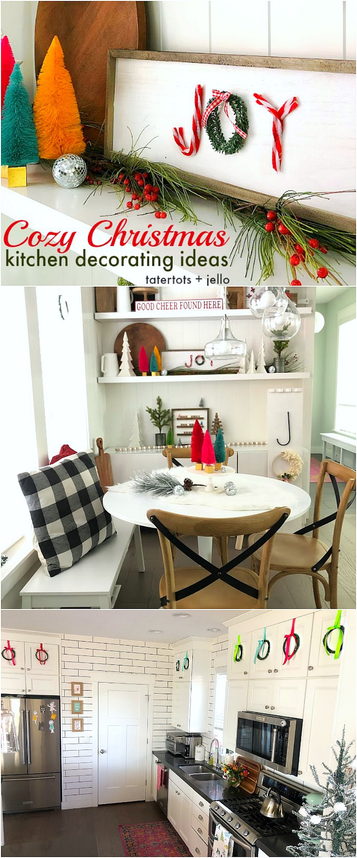 Cozy Christmas Kitchen Nook Decorating Ideas - DIY ideas