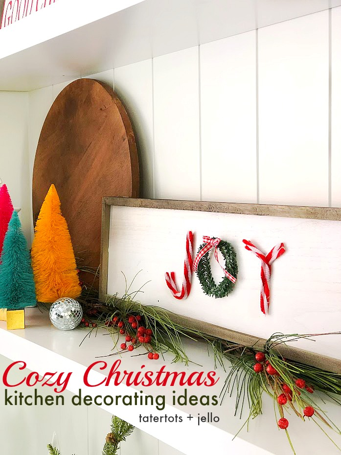 cozy christmas kitchen decorating ideas