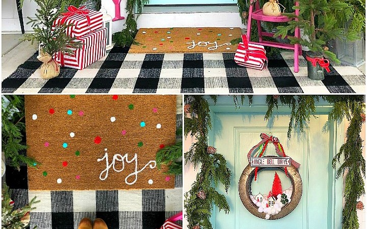 Joy to the World 2018 Holiday Porch