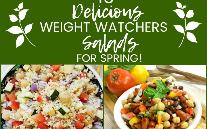 15 Weight Watchers Salad Recipes!