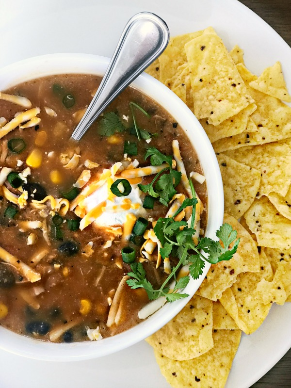 8 can taco soup recipe