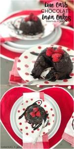 Decadent Keto Sugar-Free Chocolate Lava Cake
