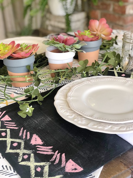 Outdoor Entertaining using Dollar Spot Items