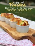 Panera Copycat Spinach and Artichoke Egg Souffle Recipe