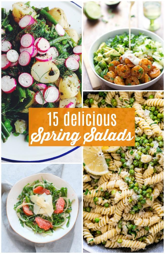 15 delicious spring salads