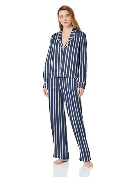 Splendid satin striped pajamas for mothers day