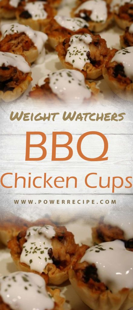 1 Weight Watchers Smart Point BBQ Chicken Cups @ Power Recipe