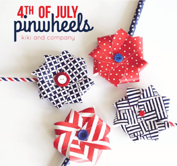 4th of July Pinwheels @ Tatertots & Jello