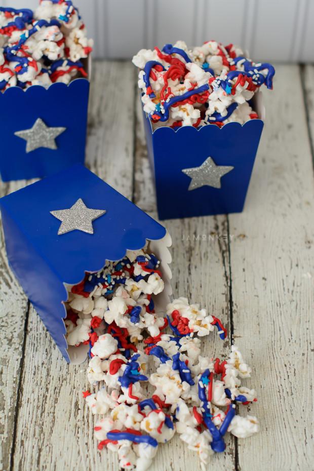 Patriotic Popcorn @ Jamonkey