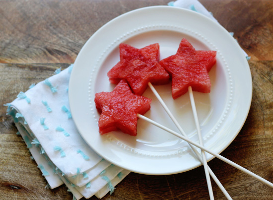 Star Spangled Watermelon @ At Home In Love