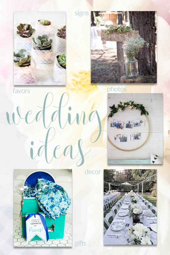 5 DIY wedding ideas