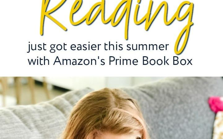 Reading Just Got Easier This Summer with Prime Book Box!