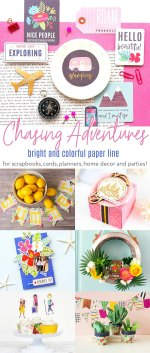 Chasing Adventures Bright and Colorful Paper Line – now in Australia!