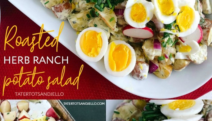 Roasted Herb Ranch Potato Salad