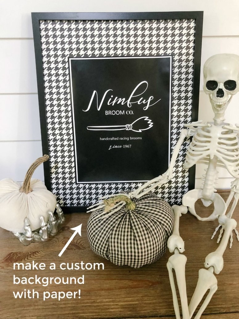 Harry Potter-themed Halloween Free Printables! Combine your love of Harry Potter + Halloween and display these free printables to celebrate the holiday!