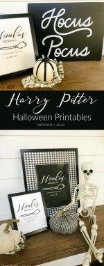 Harry Potter Nimbus Broom Free Halloween Printables