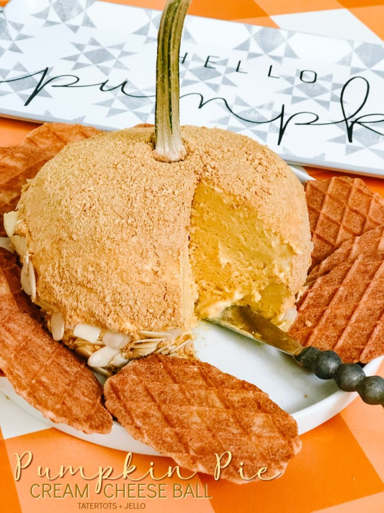 Pumpkin Pie Cream Cheese Ball Recipe. Make this sweet cream cheese ball that tastes just like pumpkin pie. Pair it with slices apples or cookies and you have the perfect fall dessert or party food!