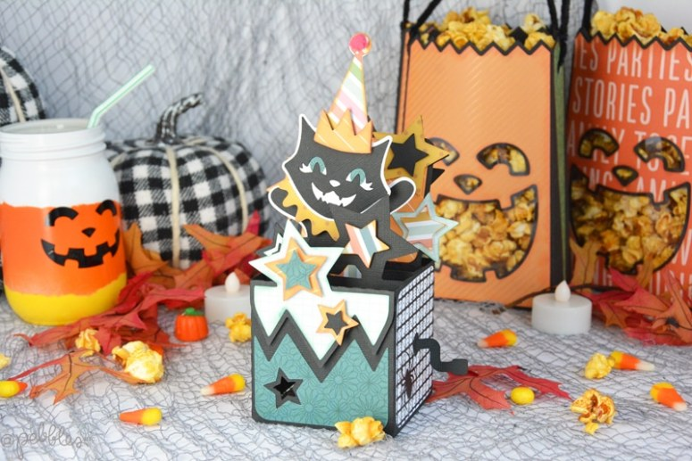 Halloween Pumpkin Paper Party Bags. Turn sheet of paper into festive pumpkin-shaped Halloween party bags and fill them with treats!