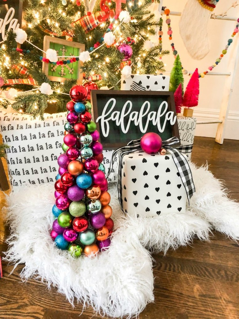 FALALA Colorful Christmas Tree! Create a vibrant, playful Christmas tree with ALL the colors this holiday season!