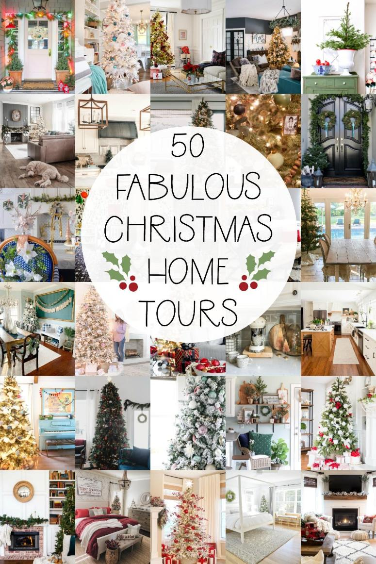 50 festive holiday home tours