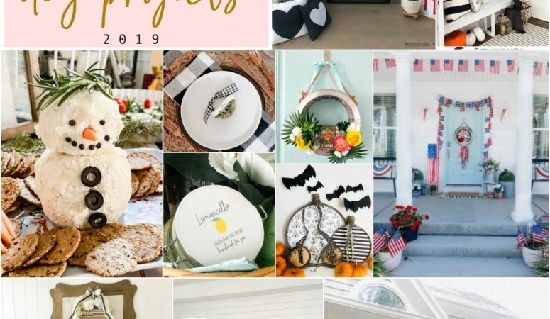 Tatertots and Jello – 27 favorite projects of 2019!