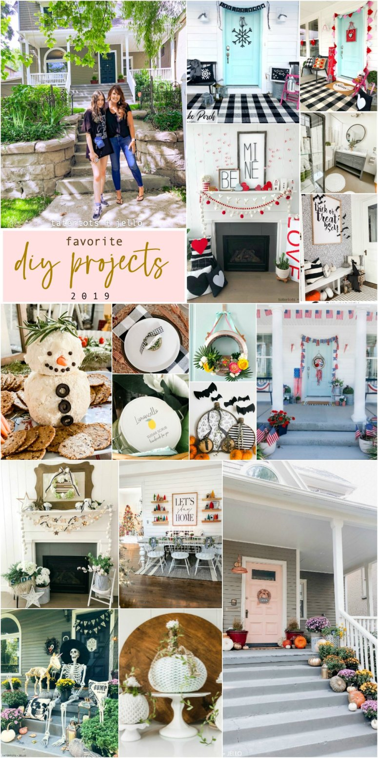Tatertots and Jello Favorite Projects of 2019