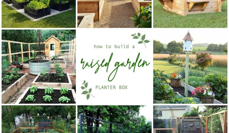 How to Make a Simple Garden Planter Box